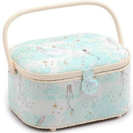 Mermaid Magic  Large Oval Sewing Box By Hobby Gift