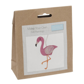 Felt Decoration Kit: Flamingo