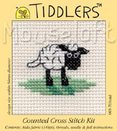 Sheep Cross Stitch Kit by Mouse Loft