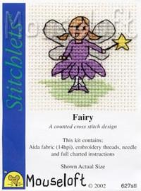 Fairy Cross Stitch Kit by Mouse Loft