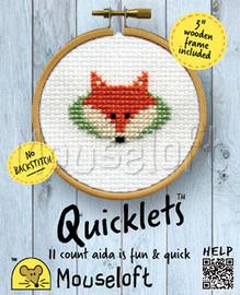 Fox Cross Stitch Kit by Mouse Loft