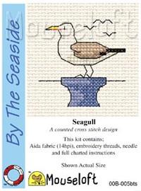 Seagull Cross Stitch Kit by Mouse Loft