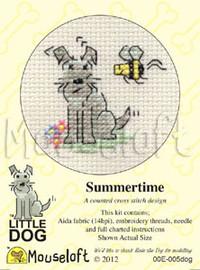 Summertime Cross Stitch Kit by Mouse Loft