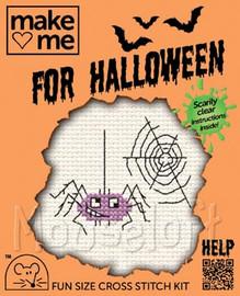 Spider Cross Stitch Kit by Mouse Loft