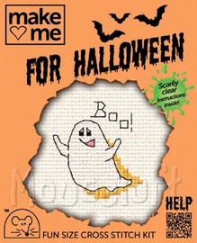 Ghost Cross Stitch Kit by Mouse Loft