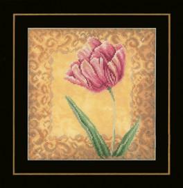 Counted Cross Stitch Kit: Tulip (Evenweave)