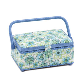 Lydia  Small Rectangular Sewing Box By Hobby Gift
