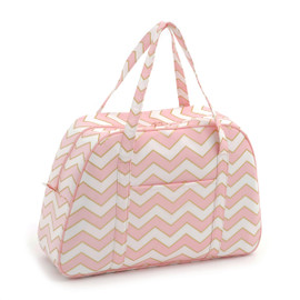 Chevron - Pearlised Blush  Sewing Machine Bag By Hobby Gift