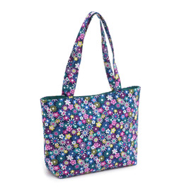 Flowers-a-Plenty  Small Tote Bag By Hobby Gift