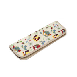Owl  Knitting Pin Case (Filled with Bamboo Pins) By Hobby Gift