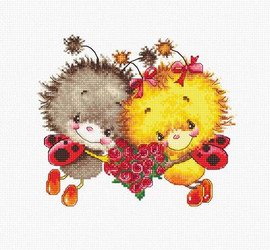 Ladybug Love Cross Stitch Kit By Luca S