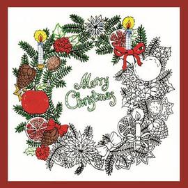 Christmas Wreath Zenbroidery Design