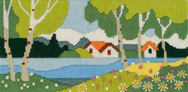 Quiet Midday Cross Stitch Kit By Riolis