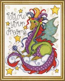 Dream Dragon Cross Stitch Kit By Design Works