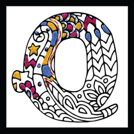 Zenbroidery - Letter Q EMBROIDERY KIT By Design Works