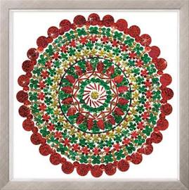 Zendazzle - Holiday Mandala EMBROIDERY KIT By Design Works