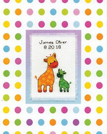Baby Sampler Cross Stitch Kit By Design Works