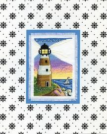 Lighthouse Cross Stitch Kit By Design Works