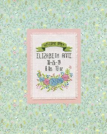Welcome Baby Cross Stitch Kit By Design Works