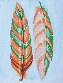 Feather Whisper Craft Kit by Diamand Dotz