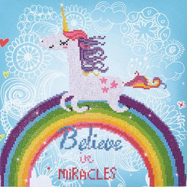 Believe in Miracles - Large Craft Kit by Diamand Dotz