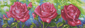 Roses Du Jardin Craft Kit by Diamand Dotz