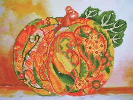 Pumpkin Amber Sparkle Craft Kit by Diamand Dotz