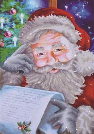 Santa's Wish List Craft Kit by Diamand Dotz