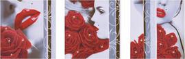 Rose Romance Craft Kit by Diamand Dotz