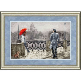 White Nights Cross Stitch Kit by Golden Fleece