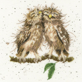 Birds Of A Feather Cross Stitch Kit By Bothy Threads