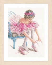 My First Dance Cross Stitch Kit By Lanarte