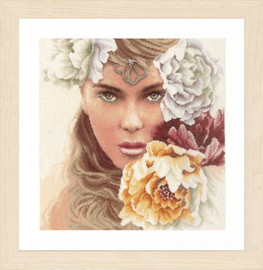 Enchanted Eyes Cross Stitch Kit By Lanarte