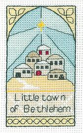 Bethlehem Cross Stitch Kit By Heritage Crafts