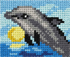 My First Embroidery Kit Dolphin By Orchidea