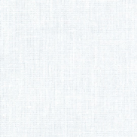 Normandie Surface Embroidery fabric White Size 43cm x 48cm