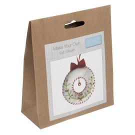 Make Your own Felt Wreath Kit