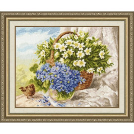 Morning Mood Cross stitch Kit By Golden Fleece