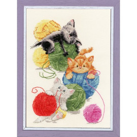 Balls Cross Stitch Kit by Golden Fleece