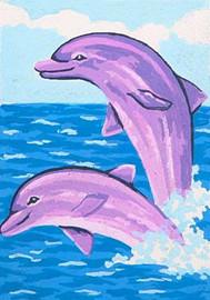 Sea World Acrobats CANVAS By Grafitec