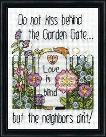 Garden Gate Cross Stitch Kit By Design Works