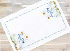Geese Table Topper Cross Stitch Kit By Luca S