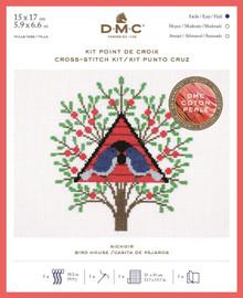 Bird House Cross Stitch Kit By DMC