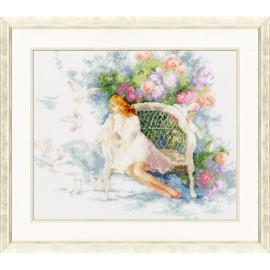 Spring dreams Cross Stitch Kit by Golden Fleece