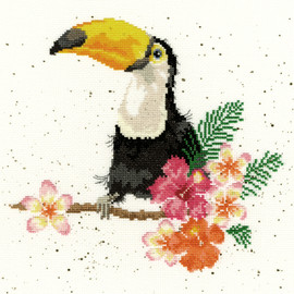 Toucan of my Affection Cross Stitch Kit by Wrendale