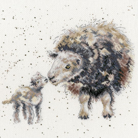 Ewe and Me Cross Stitch Kit by Bothy Threads