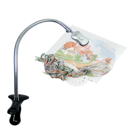 Clip on Magnifying Light