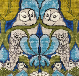 The Owl Tapestry Kit by Voysey  by William Morris