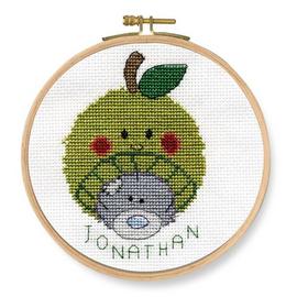 Apple Beanie Cross Stitch Kit by DMC