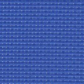 Blue 6ct Herta (Binca) 1 Metre Length by 60cm Width